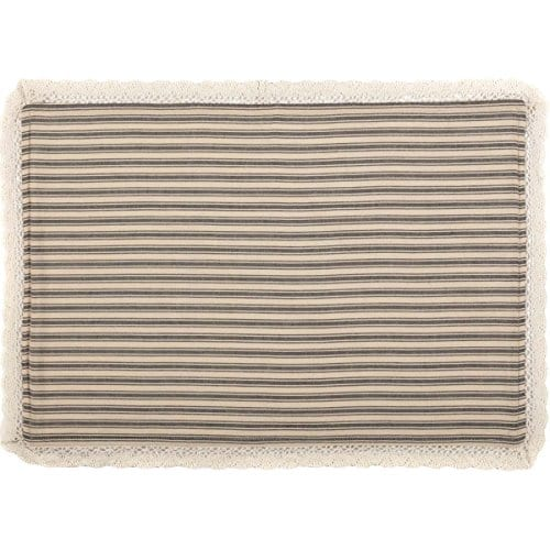 VHC Brands Kendra Stripe Placemat 0 1