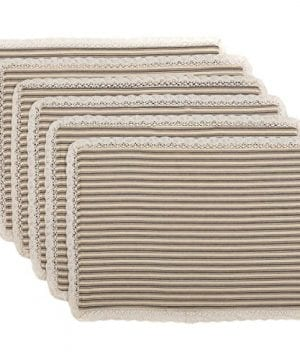 VHC Brands Kendra Stripe Placemat 0 300x360