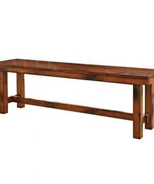 W Designs Dark Oak Bench 0 300x360