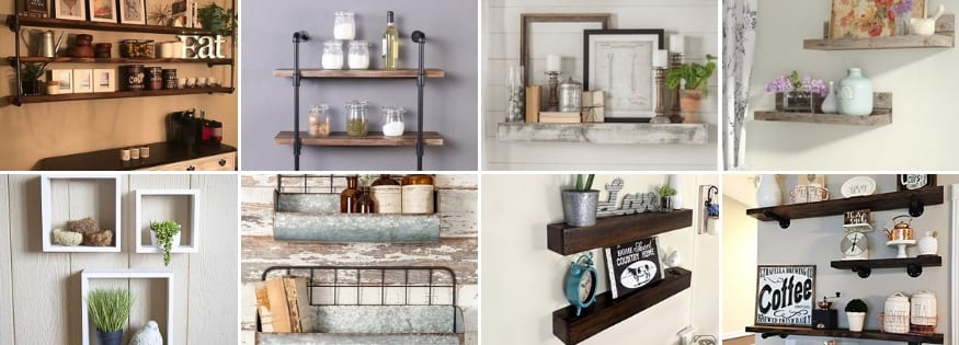 Farmhouse Shelves & Rustic Shelves