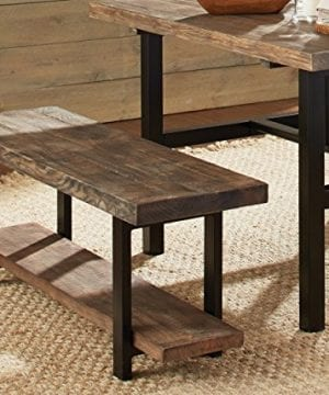 Alaterre AZMBA0120 Sonoma Rustic Natural End Table Brown 0 0 300x360