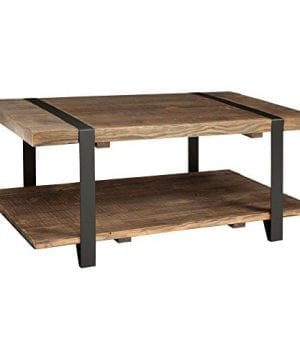Alaterre Modesto Rustic Coffee Table Natural 0 300x360