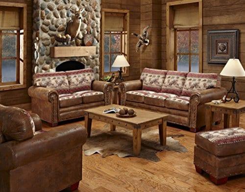 American Furniture Classics 4 Piece Deer Valley Sleeper Sofa 0