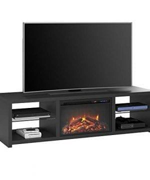 Ameriwood Home 1848407COM Harrison TV Stand Black 0 300x360
