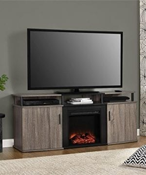 Ameriwood Home Carson Electric Fireplace TV Console TVs 0 2 300x360