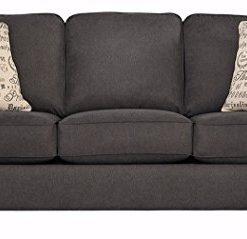 Ashley Furniture Signature Design Alenya Sofa With 2 Throw Pillows Vintage Casual Charcoal Farmhouse Goals