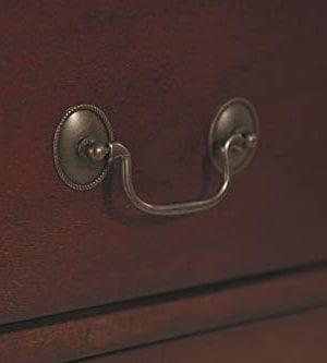Ashley Furniture Signature Design Alisdair Nightstand 2 Drawers Traditional Rectangular Dark Brown 0 1 300x333