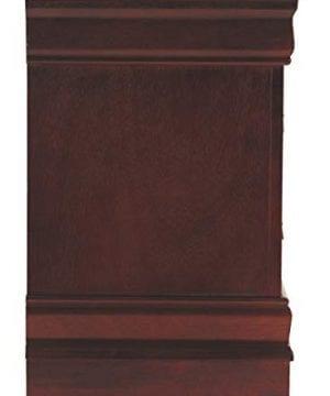 Ashley Furniture Signature Design Alisdair Nightstand 2 Drawers Traditional Rectangular Dark Brown 0 3 300x360
