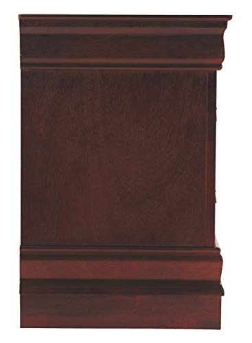Ashley Furniture Signature Design Alisdair Nightstand 2 Drawers Traditional Rectangular Dark Brown 0 3