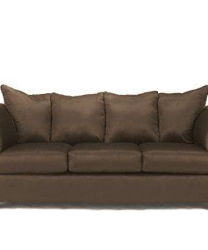 Ashley Furniture Signature Design Darcy Contemporary Microfiber Sofa Caf 0 300x360
