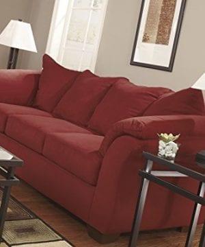 Ashley Furniture Signature Design Darcy Contemporary Microfiber Sofa Salsa 0 0 300x360