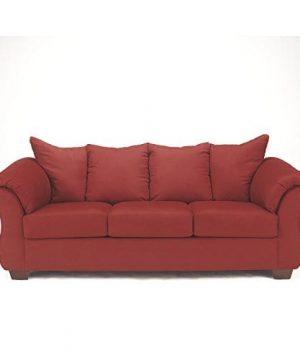 Ashley Furniture Signature Design Darcy Contemporary Microfiber Sofa Salsa 0 300x360
