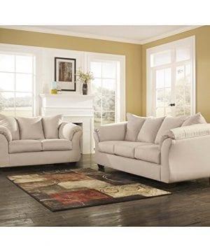Ashley Furniture Signature Design Darcy Contemporary Microfiber Sofa Stone 0 0 300x360