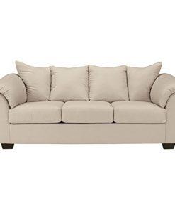 Ashley Furniture Signature Design Darcy Contemporary Microfiber Sofa Stone Farmhouse Goals