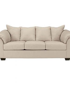 Ashley Furniture Signature Design Darcy Contemporary Microfiber Sofa Stone 0 300x360