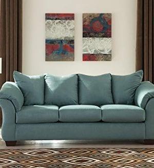 Ashley Furniture Signature Design Darcy Sofa 3 Seats Ultra Soft Upholstery Contemporary Sky 0 0 300x327