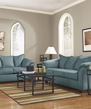 Ashley Furniture Signature Design Darcy Sofa 3 Seats Ultra Soft Upholstery Contemporary Sky 0 2 300x360
