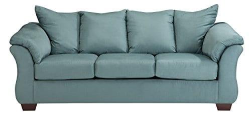 Ashley Furniture Signature Design Darcy Sofa 3 Seats Ultra Soft Upholstery Contemporary Sky 0