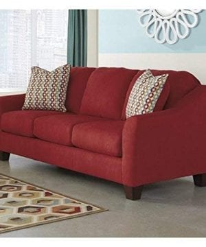 Ashley Furniture Signature Design Hannin Loveseat With 2 Accent Pillows Contemporary 0 0 300x360