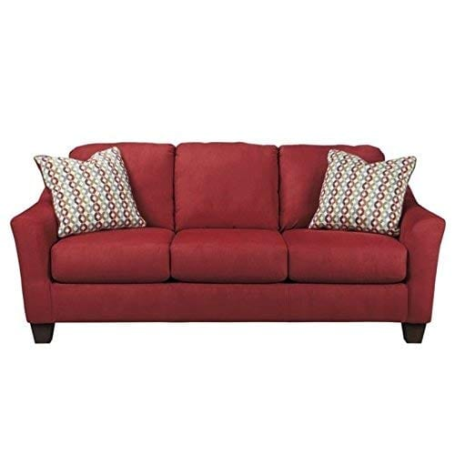 Ashley Furniture Signature Design Hannin Loveseat With 2 Accent Pillows Contemporary 0