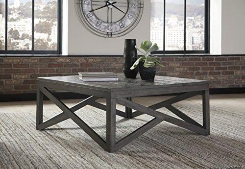 Ashley Furniture Signature Design Haroflyn Contemporary Square 0 0