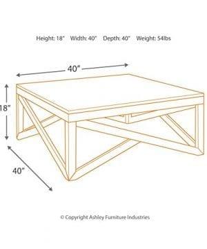 Ashley Furniture Signature Design Haroflyn Contemporary Square 0 2 300x360