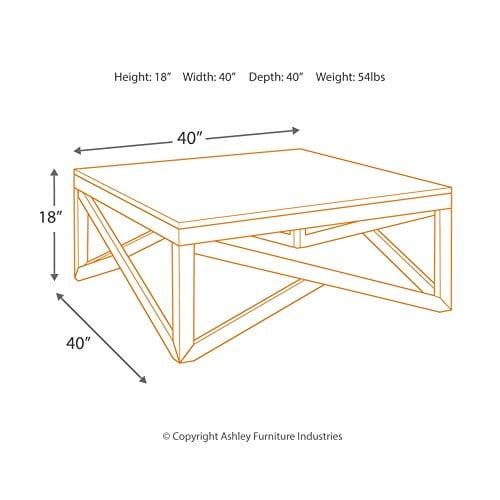 Ashley Furniture Signature Design Haroflyn Contemporary Square 0 2