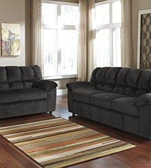 Ashley Furniture Signature Design Julson Loveseat Contemporary 0 1 300x333