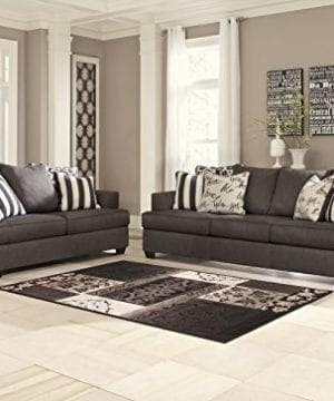 Ashley Furniture Signature Design Levon Sofa Classic Style Charcoal Gray 0 0 300x360