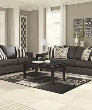 Ashley Furniture Signature Design Levon Sofa Classic Style Charcoal Gray 0 1 300x360