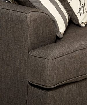 Ashley Furniture Signature Design Levon Sofa Classic Style Charcoal Gray 0 3 300x360