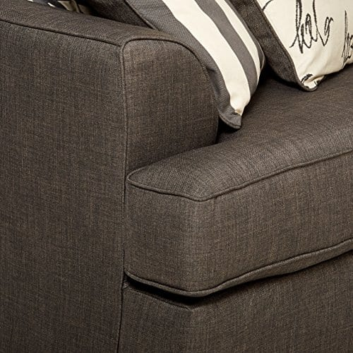 Ashley Furniture Signature Design Levon Sofa Classic Style Charcoal Gray 0 3