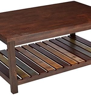 Ashley Furniture Signature Design Mestler Coffee Table Cocktail Height Rectangular Rustic Brown 0 300x313