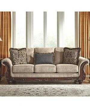 Ashley Furniture Signature Design Montgomery Sofa With 2 Throw Pillows 0 0 300x360
