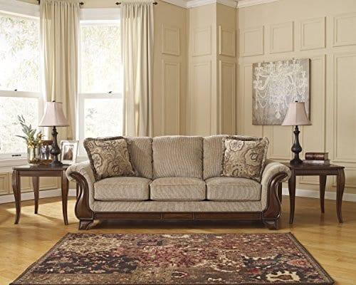 Ashley Furniture Signature Design Montgomery Sofa With 2 Throw Pillows 0 1