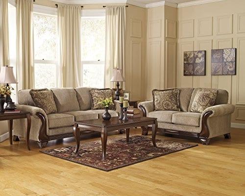Ashley Furniture Signature Design Montgomery Sofa With 2 Throw Pillows 0 2