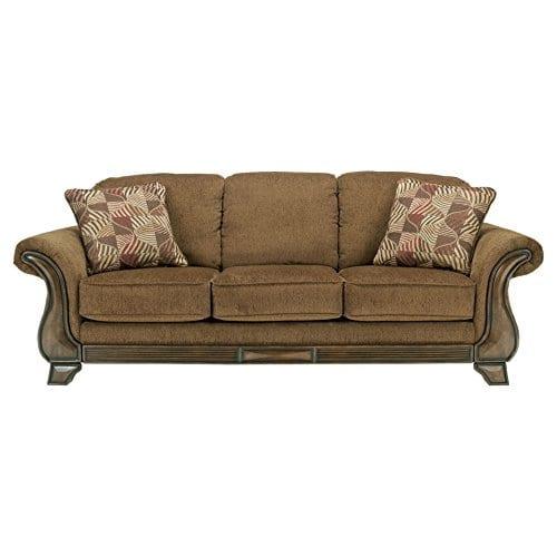 Ashley Furniture Signature Design Montgomery Sofa With 2 Throw Pillows 0