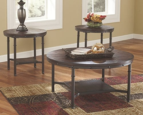 Ashley Furniture Signature Design Sandling Occasional Table Set
