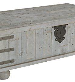 Farmhouse Lift Top Coffee Table.Ashley Furniture Signature Design Carynhurst Coffee Table Distressed Finish White