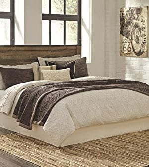Ashley Furniture Signature Design Trinell KingCal King Panel Headboard Component Piece Brown 0 0 300x336