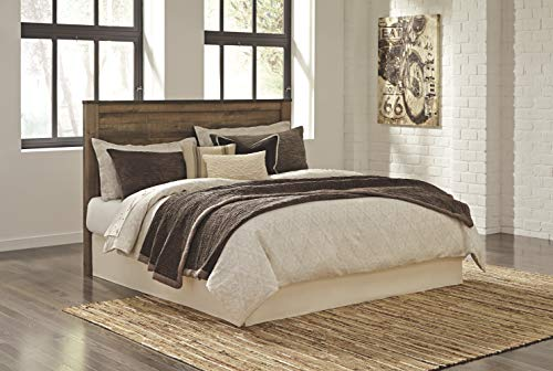 Ashley Furniture Signature Design Trinell KingCal King Panel Headboard Component Piece Brown 0 0