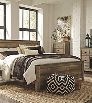 Ashley Furniture Signature Design Trinell KingCal King Panel Headboard Component Piece Brown 0 1 300x336