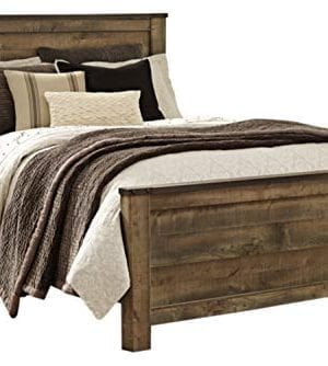 Ashley Furniture Signature Design Trinell Queen Panel Headboard Component Piece Brown 0 300x334