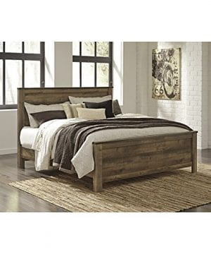 Ashley Trinell King Panel Bed In Brown 0 300x360