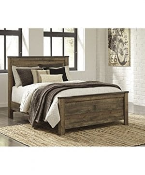 Ashley Trinell Queen Panel Bed In Brown 0 300x360