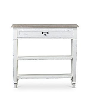 Baxton Studios Dauphine Traditional French Accent Console Table 0 300x360