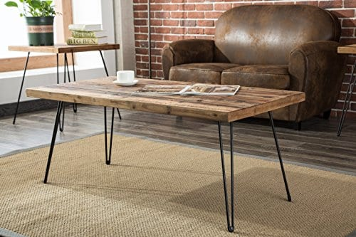 Belmont Home Reclaimed Wood And Metal Tables Set Of 3 0 1