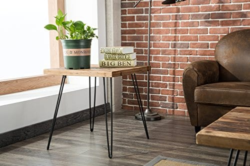 Belmont Home Reclaimed Wood And Metal Tables Set Of 3 0 2