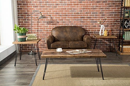 Belmont Home Reclaimed Wood And Metal Tables Set Of 3 0 3