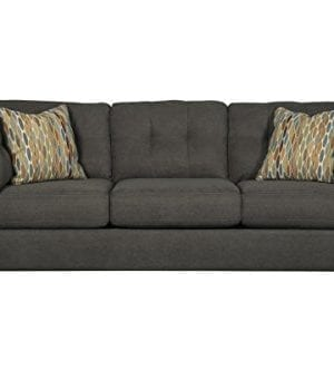 Benchcraft Delta City Contemporary Living Room Sofa Steel Gray 0 300x333